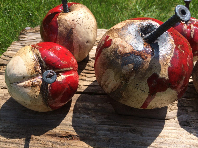 Apfelernte…